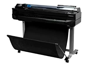HP CQ890A DesignJet T520 ePrinter - 24 inch large-format printer - color - ink-jet - A1, ANSI D, Roll (24 in x 150 ft) - 2400 dpi x 1200 dpi - up to 0.6 min/page (mono) / up to 0.6 min/page (color) - USB, 802.11, 10/100Base-TX