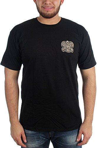 loser-machine-herren-hallmark-t-shirt-small-black