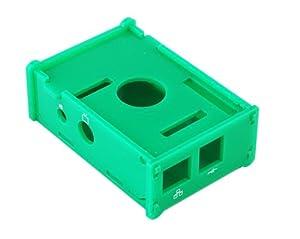 GadgetinBox™ - Case Box Enclosure for Raspberry Pi Computer (Green)