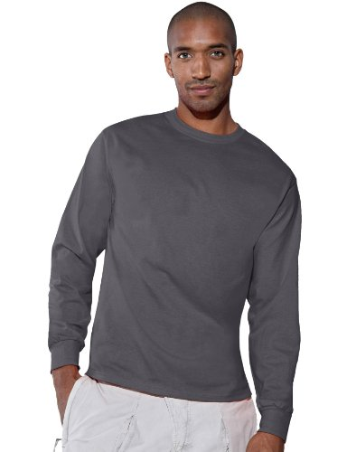 Adult Hanes 6.1 oz ComfortSoft Long Sleeve T-Shirt
