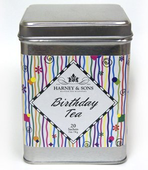 Harney and Sons Birthday Tea Tin, 20 Sachets