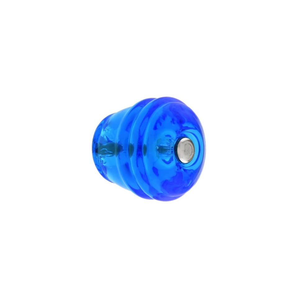 Round Peacock Blue Glass Cabinet Knob. Glass Kitchen Knobs.   Cabinet And Furniture Knobs