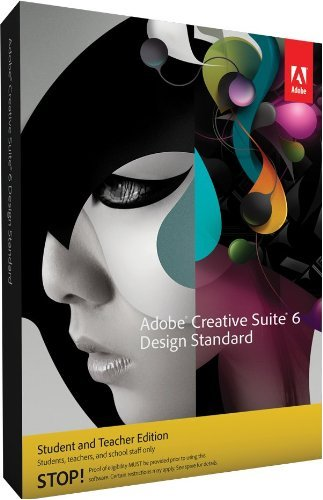 Adobe Creative Suite 6 Design Std Win Student