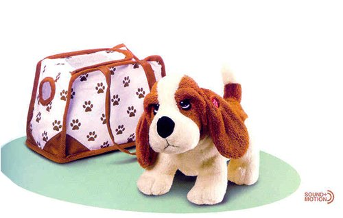 Buy Russ Berrie  Hush Puppies Wagging Tail Purse Pet