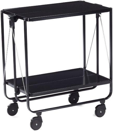 Leifheit 074237 carrello portavivande colore nero for Carrello portavivande amazon