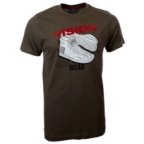 Vision Street Wear Sneaker T-Shirt , army green