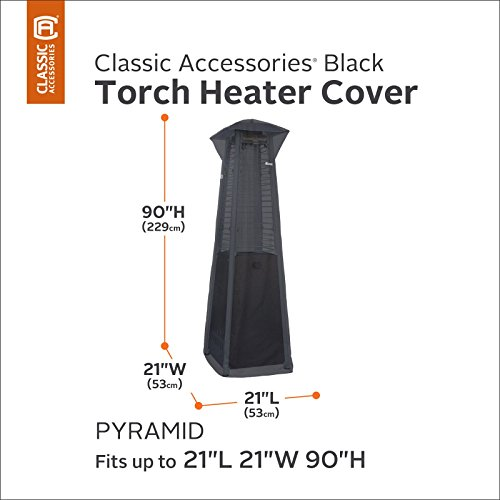 Classic-Accessories-Classic-Black-21-x-90-in-Pyramid-Torch-Heater-Cover
