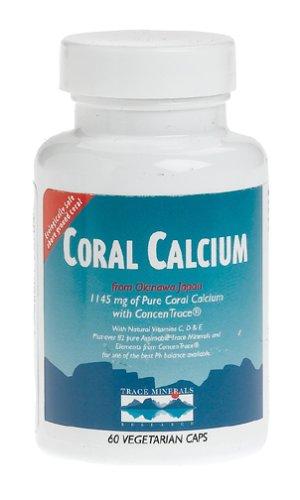 Trace Minerals Research calcium de corail,