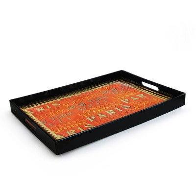 Accents by Jay Tea Room Rectangular Tray
