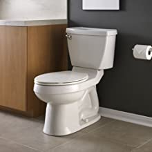American Standard 4266.504.020 Champion-4 Complete Toilet Tank with Aquaguard Liner, White (Tank Only)