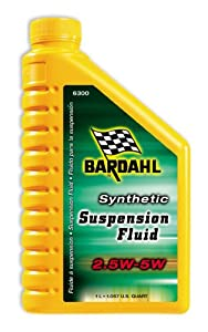 Bardahl 6300 Synthetic 2.5W-5W Suspension Fluid - 1.057 Quart