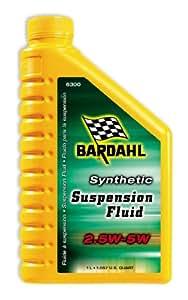 Bardahl 6300 Synthetic 2.5W-5W Suspension Fluid - 1.057 Quart