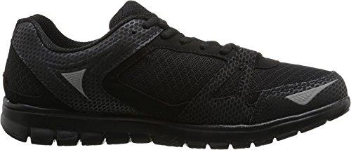 Fila Men's Nrg Black/Black/Metallic Silver Sneaker 10.5 D (M)