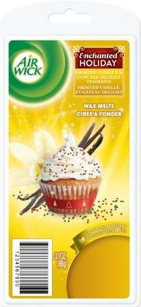 AIR Wick® Wax Melts - Frosted Vanilla & Cupcake Delight (Enchanted Holiday)