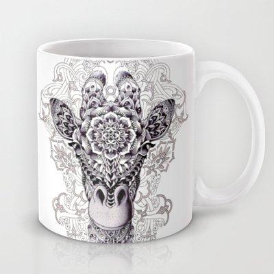Society6 - Giraffe Coffee Mug By Bioworkz