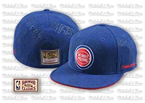 Detriot Pistons Hardwood Classics Mitchell & Ness Cap Hat by Mitchell & Ness
