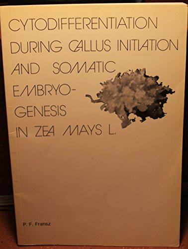 Cytodifferentiation During Callus Initiation and Somatic Embryogenesis in Zea Mays L. PDF