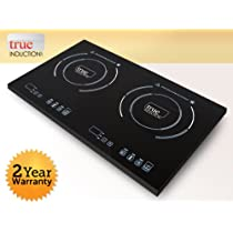 True Induction Cooktop- Double Burner- Energy Efficient S2F2