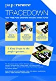 Tracedown Blue A4 Pk5 (Pack)