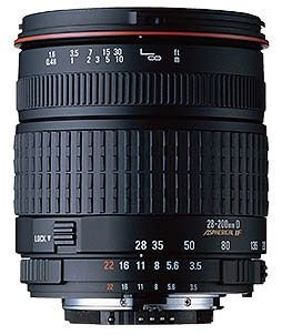 Sigma 28-200 f/3.5-5.6 Compact Hyper Zoom Aspherical Lens for Canon SLR Cameras