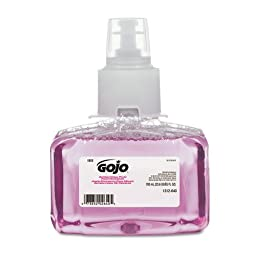 GOJO Antibacterial Foam Hand Wash, 700mL Refill, Plum Scent - three refills.