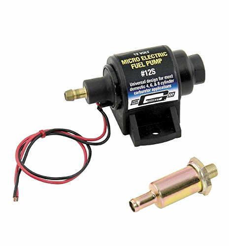 Mr. Gasket Micro Electric Fuel Pump 12V #12S