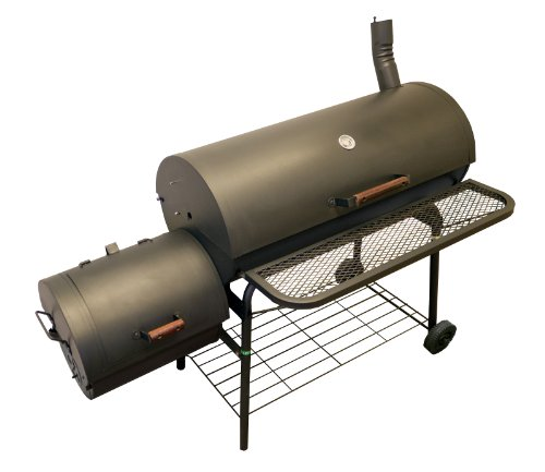 AZ Patio Heaters HIL-3014-SMK BBQ Smoker with Firebox on The Side, 1200 Square Inch