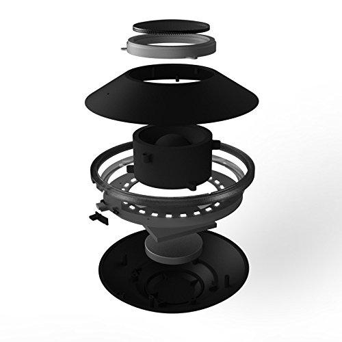 MOXO X-1 Portable Wireless Bluetooth Levitating Floating Maglev Speaker(White)