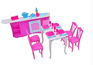 Buy Cheap Doll House Furniture Set Kitchen Room Sets Online At Low Prices In India