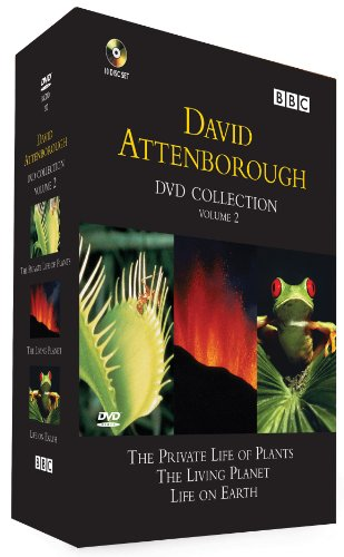 David Attenborough Box Set 2: Life on Earth, The Living Planet and The Private Life of Plants [DVD]