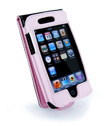 i-nique Premium napa leather case (Apple ipod Touch) 8GB/16GB/32GB - pink