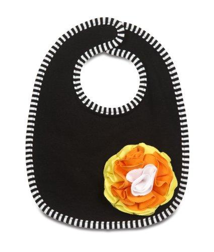 "Pavilion Gift Company Baby Bib, Candy Corn, 6"""