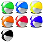 R5G1 Wasserball Strandball aufblasbar...
