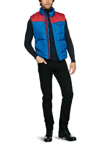 Levi's Puffa Men's Gilet Biking Red/True Blue XX-Large