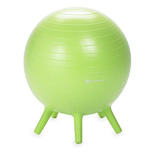 gaiam-kids-stay-n-play-balance-ball-lime