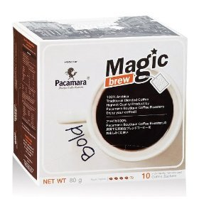 Pacamara Magic Brew Ground Roasted Traditional Blended Coffee Bold 80G.
