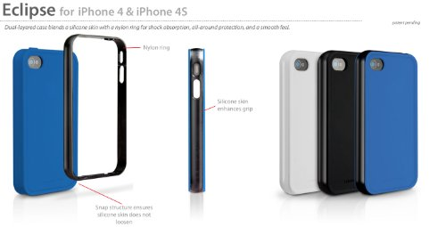 Marware ABEC1V Eclipse iPhone 4/4S Case (Blue/Black)