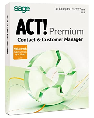 Act By Sage Premium 2010 Multi Pack 5Lic