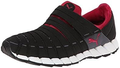 PUMA Women's Osu Running Shoe,Black/Dark Shadow/Cerise,5.5 B US