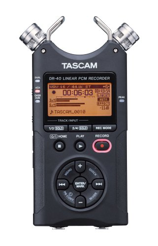 TASCAM-DR-40-Channel-Portable-Digital-Recorder