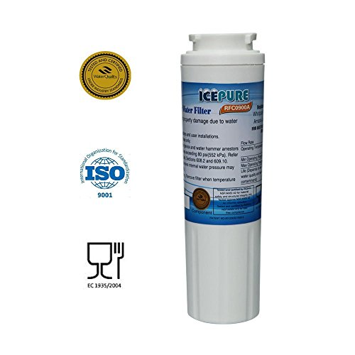IcePure Water Filter, Compatible with Maytag, Amana, Kenmore, Jenn-Air, Whirlpool, Kitchenaid models, 1 pack (Refrigerator Filter Kitchenaid compare prices)