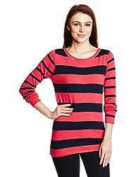 People Women's Body T-Shirt (P20401095001810_Red_M)