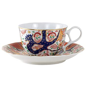 Imari Falling Leaves Cup and Saucer