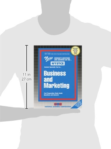 Business and Marketing (Passbooks for National Teacher Examinations)