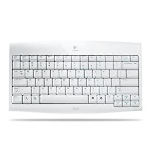 Logitech Wii Cordless Keyboard(50% Off from Amazon.com)