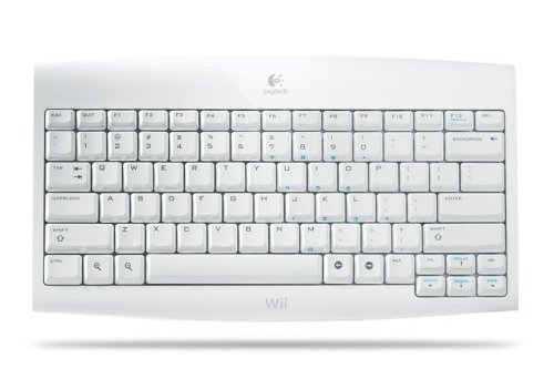 41FK2v7nt%2BL Buy  Logitech Wii Cordless Keyboard