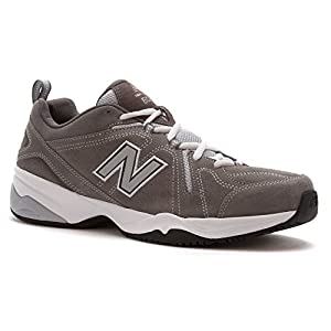 New Balance Men's MX608V4 Training Shoe, Grey, 7.5 4E US