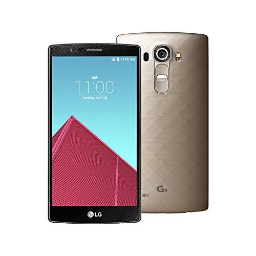 LG G4 H815 5.5-Inch Factory Unlocked Smartphone (Metallic Gold) – International Stock (No Warranty)