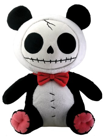 Pandie the Panda Bear Furry Bones Plush (H: 12