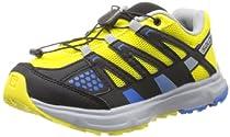 Salomon XR Mission J Trail Runner (Little Kid/Big Kid),Canary Yellow/Black/Union Blue,1 M US Little Kid